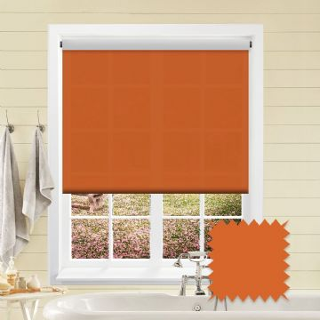 Orange Roller Blind Bermuda Orange